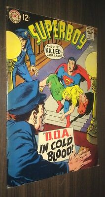 SUPERBOY #151 -- October 1968 -- Neal Adams Cover -- F Or Better