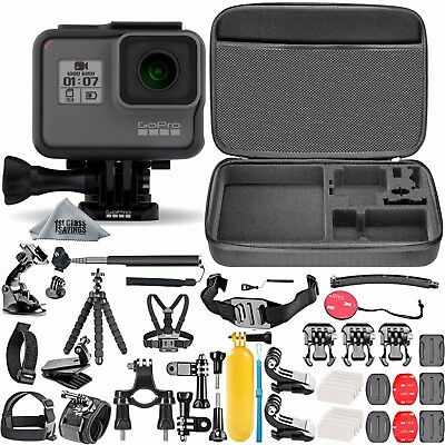 DEAL: GoPro HERO5 Black Edition + 50 Piece Hero 5 Accessory Kit Camera Camcorder