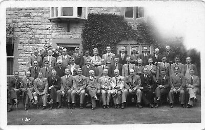POSTCARD    SOMERSET  YEOVIL  PETTERS   Staff  Outing 1936
