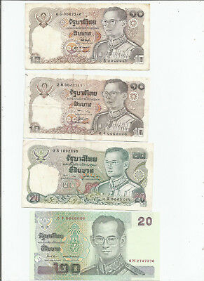 Thailand  Four  Notes