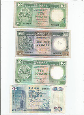 Hongkong  Four  Notes