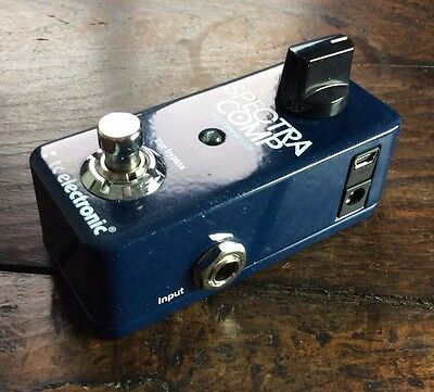 TC Electronic SpectraComp Bass Compressor Pedal - Slightly Used