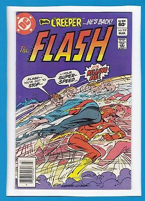 The Flash #319_March 1983_Very Fine+_Captain Invincible_Eradicator_Bronze Age!