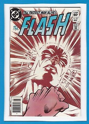 THE FLASH #321_MAY 1983_VF_REVERSE-FLASH_1st APP OF SABER-TOOTH_BRONZE AGE DC!