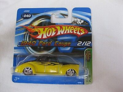 Hotwheels 2006 Treasure T-Hunt 1940 Ford Coupe On Short Card
