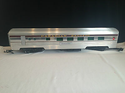 E3439 Aristocraft Canadian Pacific Passenger Car Scale 1.29 Gauge 1 Revel Stoke