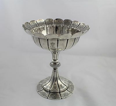 Early c1816-1840 London UK Sterling Silver Compote Robert Garrand II 20.75 ozt