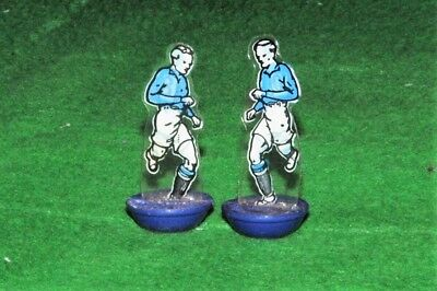 Subbuteo Newfooty Celluloid Team Chelsea 2 Spare Players