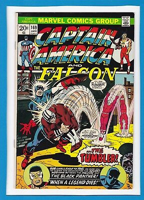 Captain America & The Falcon #169_Jan 1974_Very Fine_Black Panther_Moonstone!