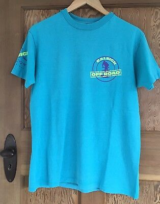 Vintage Men's Raleigh Off Road Series T SHIRT Size M- L made In USA