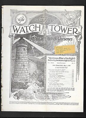 Watchtower: The Watch Tower magazine - May 1  1921  No. 9