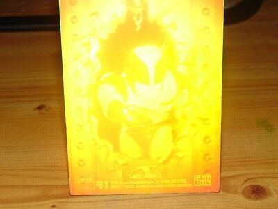 X-MEN SERIES 2 HOLOGRAM CARD no H-X / WOLVERINE   Trading Cards