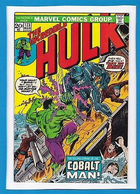 Incredible Hulk #173_March 1974_Fine+_Cobalt Man_Bronze Age Marvel!
