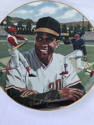 Frank Robinson Limited Edition Collectors Plate