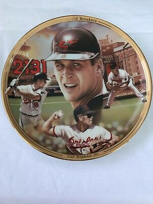 Cal Ripken Jr Collector Plate 2649 Limited Edition 1995