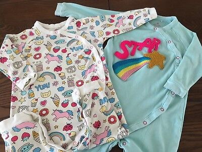 VGC Next Sleepsuits, 12-18 Unicorn/star Design