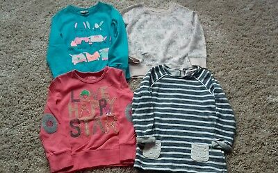 Girls Next sweatshirt jumper bundle  4-5 years