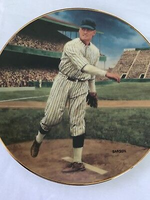 Walter Johnson Limited Edition 1993 Collectors Plate
