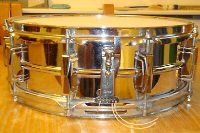 """Ludwig Supraphonic LM400 Snare Drum 14""""x5 Chrome Plated Aluminium Shell"""