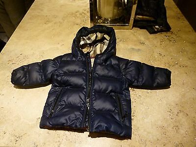 Childs Burberry Coat 9 Months