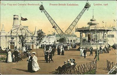 Franco British Exhibition - Flip Flap & Colonial Bandstand, London 1908