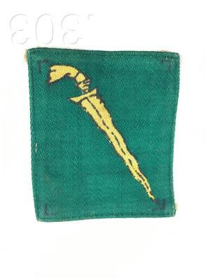 British Military Malaya Command Printed Cloth Formation Badge Patch