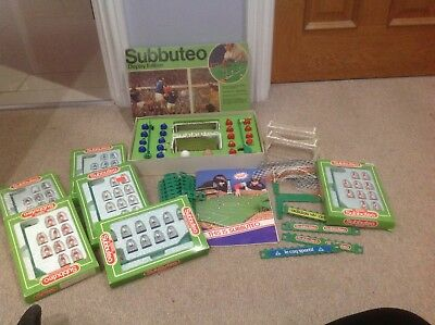 Subbuteo Table Soccer  Small Collection Display Edition And England Team