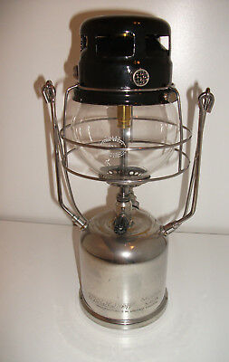 "Tilley / Tilly Pressure Oil Lamp Lantern Model X410A Chrome ""The Gem"""