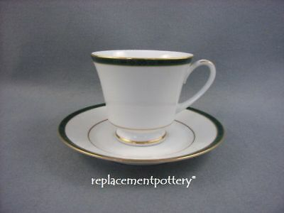 Boots Hanover Green Cup & Saucer