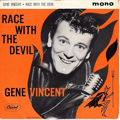 Gene Vincent 1962 Uk Ep *race With The Devil* Rocky Road Blues/ Crazy Legs +2*