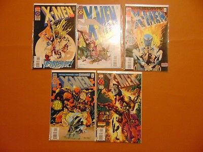 X-MEN #38, 39, 40, 41, 42 (1994, Marvel)  Complete run/lot   Legion Quest