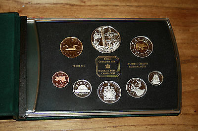 2002 8 coin  double dollar proof set  Golden Jubilee sterling silver dollar