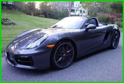 2015 Porsche Boxster GTS 2015 GTS Used Certified 3.4L H6 24V Manual RWD Convertible Premium