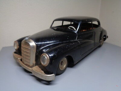 Jnf Neuhierl Germany Vintage 1950's Tinplate Mercedes Benz 300 Very Rare Item Vg