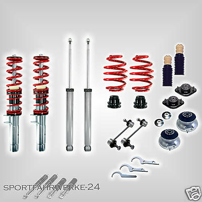 RS Premium Coil-Over Suspension Red Series Gas Strut Mount Protection Kit BMW