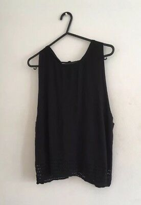 Sweaty Betty Black Vest Worn Once Perfect Condition Size Small RRP £60