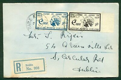 IRELAND 1938 Fr Mathew First Day Cover