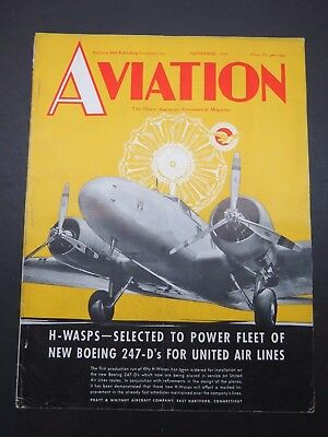 11/1934 Aviation- Airlines / Aircraft Radio / Gregor Sportplane / Bellanca Swoop