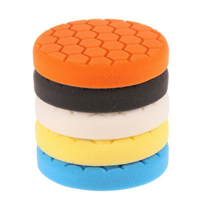 5inch (125mm) Polishing Pad kit For Car Polisher Pack of 5Pcs Z7A8 W9G4