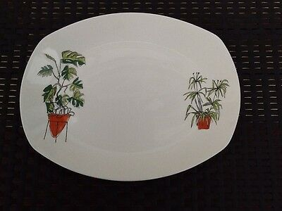 Midwinter Plant Life Meat Plate Terence Conran