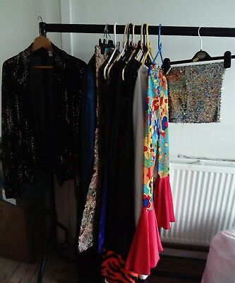 job lot fancy dress Cosplay clothing - costume, theatre. 70s hippy disco