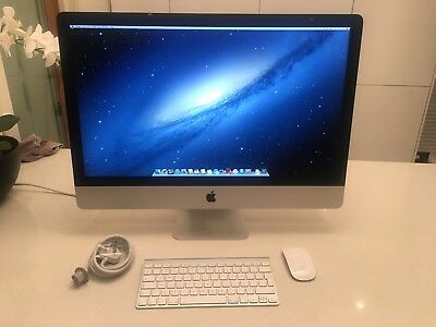 "Apple iMac 27"" Desktop 3.2GHz intel i5 8Gb memory 1Tb hard drive MD096B/A A1419"
