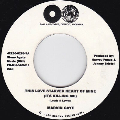 Northern Soul--MARVIN GAYE--This Love Starved Heart Of Mine (It's Killing Me)