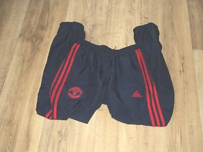 Boys Adidas Manchester United Tracksuit Trousers / Bottoms - Age 11-12 Years