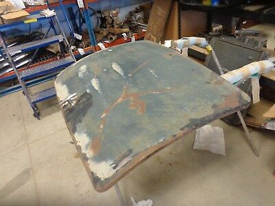 1935-1936 Ford Coupe Trunk Lid Complete, No Hinges, Rumble Seat Lid, Deck Lid