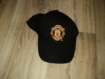 Manchester United Baseball Cap - Youth Size (YTH) - Black - Excellent Condition