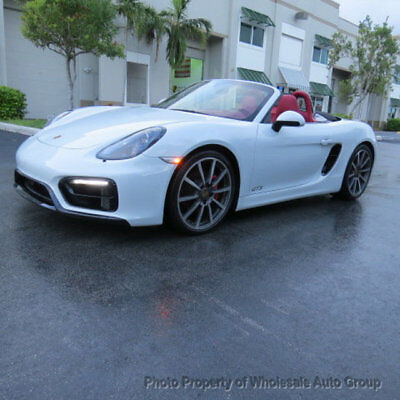 2015 Porsche Boxster Roadster GTS LIKE NEW. BEST COLOR COMBO . $85K M.S.R.P . ONE OWNER CARFAX CERTIFIED