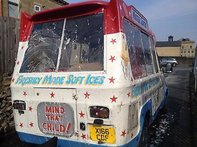 Ice Cream Van Ford Transit 2000 X-Reg