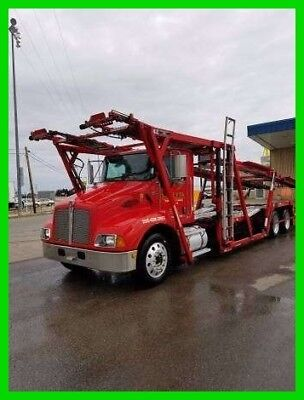 2007 Kenworth T300 Car Hauler 330HP CAT C-7 Diesel 10-Spd Manual Air Suspension