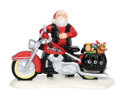 Harley Davidson Santa's New Sleigh is a Harley Snow Village by Department 56
